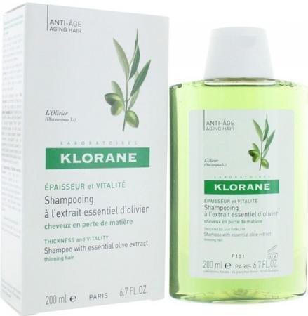 KLORANE Olivier shamp 200ml proti slábnouc.vlasům