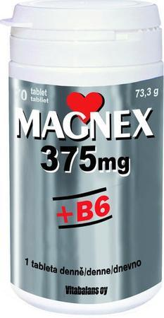 Magnex 375mg + B6 tbl 180