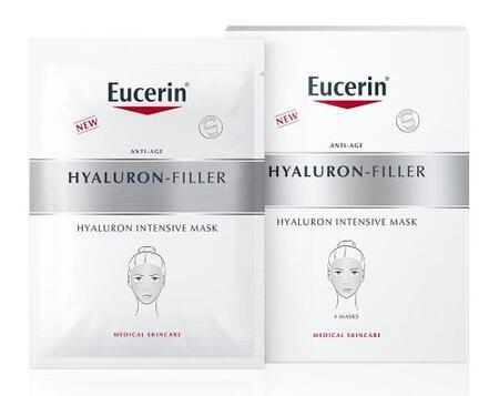 EUCERIN HYALURON FILLER Hyaluronová int. maska 4ks