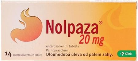 NOLPAZA 20 MG ENTEROSOLVENTNÍ TABLETY POR TBL ENT 14X20MG