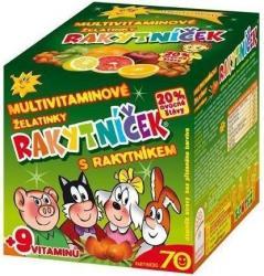 RAKYTNÍČEK multivitamin.želatinky s rakytník.70ks
