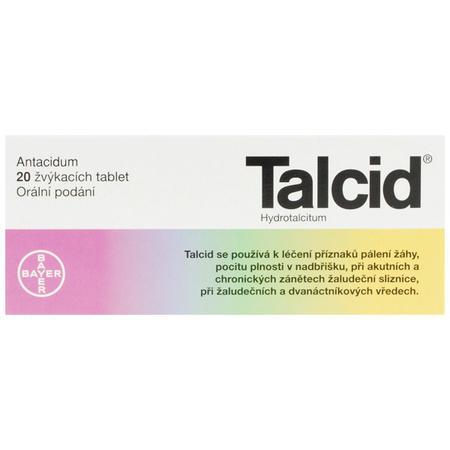 TALCID CTB 20X500MG