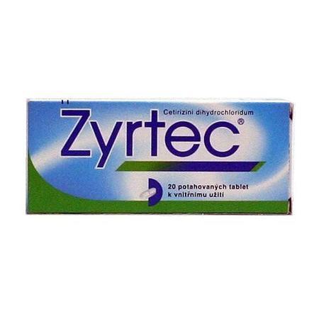 ZYRTEC 10MG TBL FLM 20